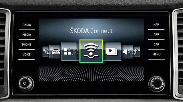 Мультимедийная система ŠKODA CONNECT