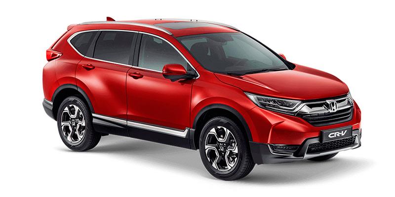 Привлекательный внешний вид нового кроссовера Honda CR-V