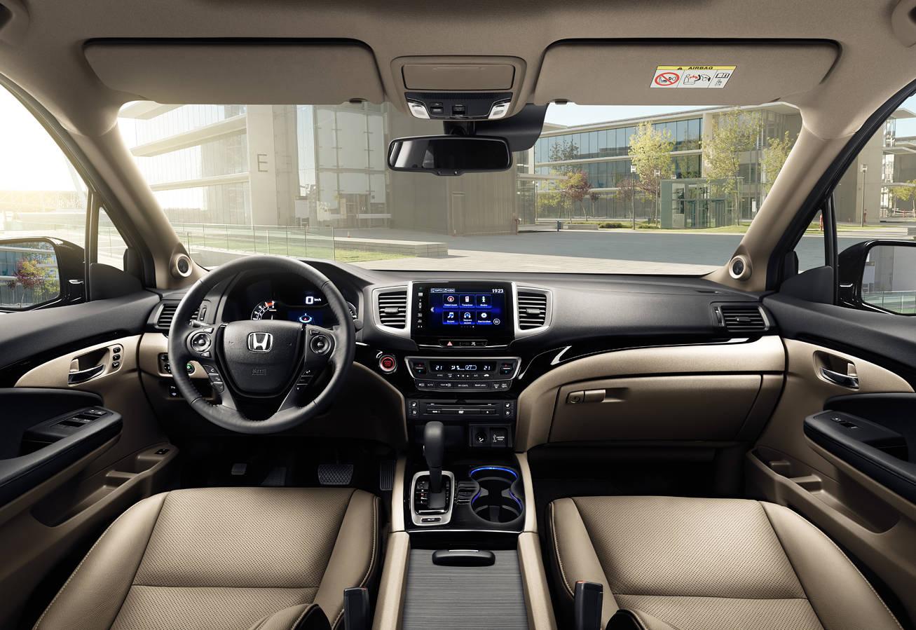 В Honda Pilot комфортно водителю и пассажирам