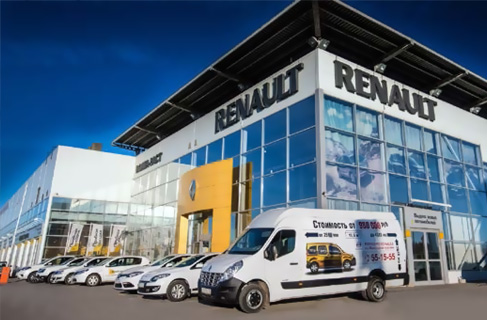 Дилерский центр Renault «Арконт» на Спартановке в