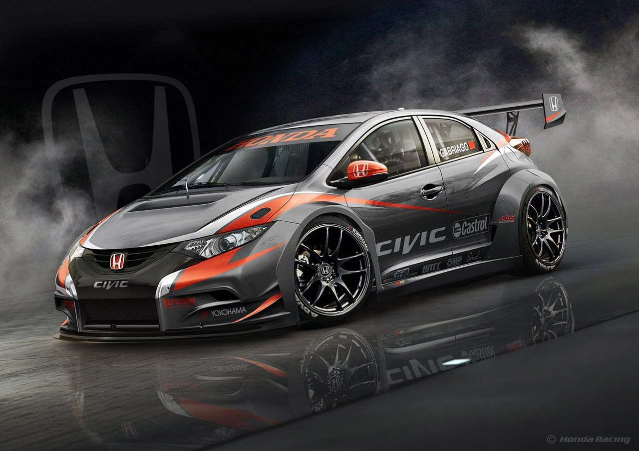 Новый Honda Civic WTCC
