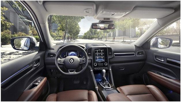 RENAULT Koleos с заботой о комфорте водителя и пассажиров