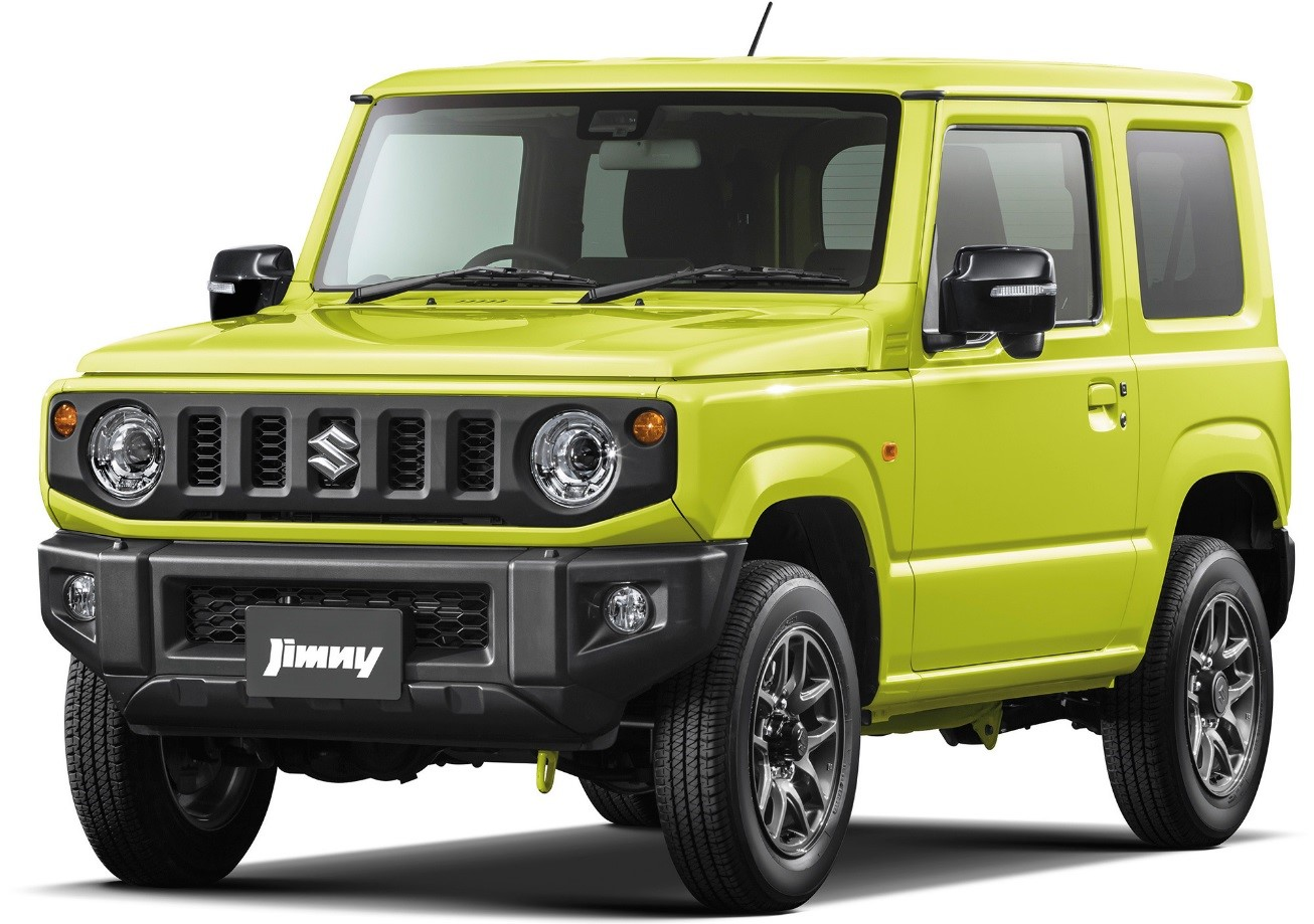 Suzuki Jimny 2019 года – одна из самых ожидаемых новинок в России