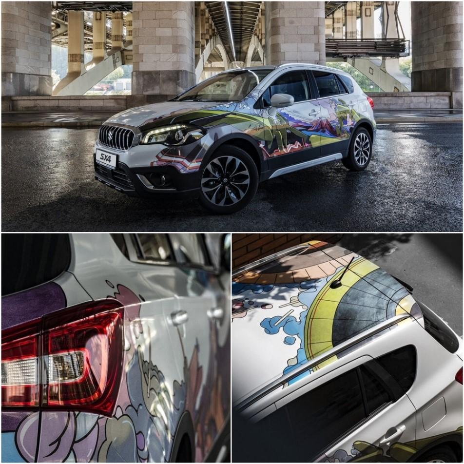 Suzuki SX4 в новом дизайне уже доступен в Волгограде