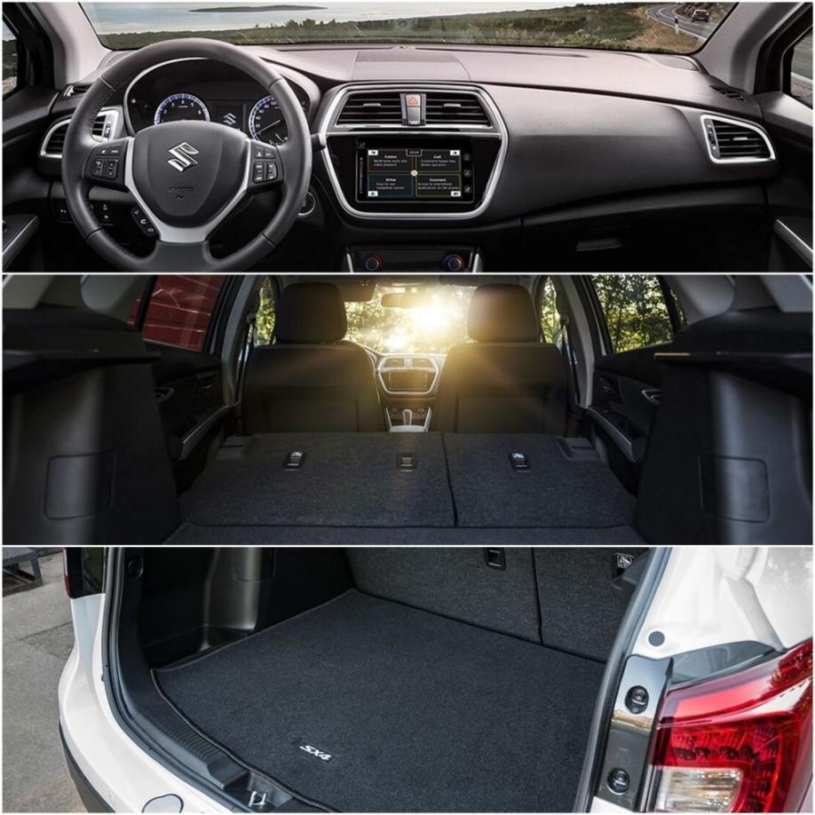 Специальная версия Suzuki SX4 Akue – это сочетание уникального дизайна и комфорта