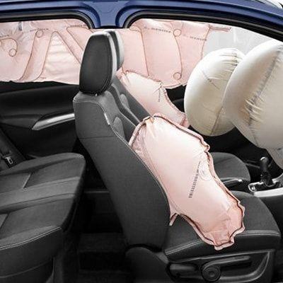 Подушки безопасности в салоне Suzuki SX4