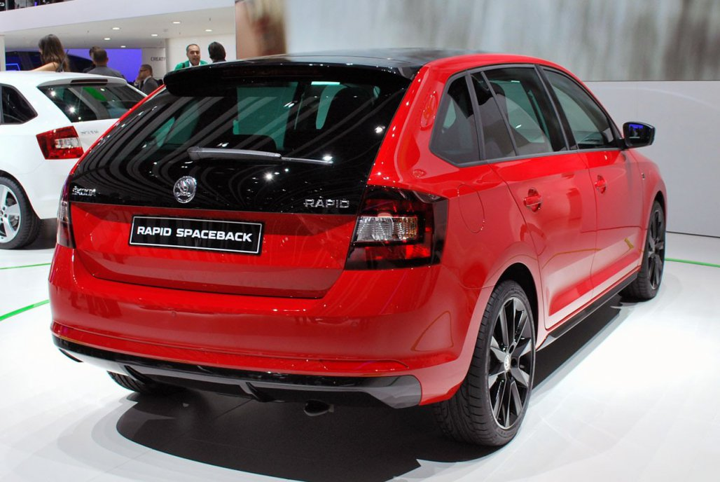 skoda rapid spaceback фоо